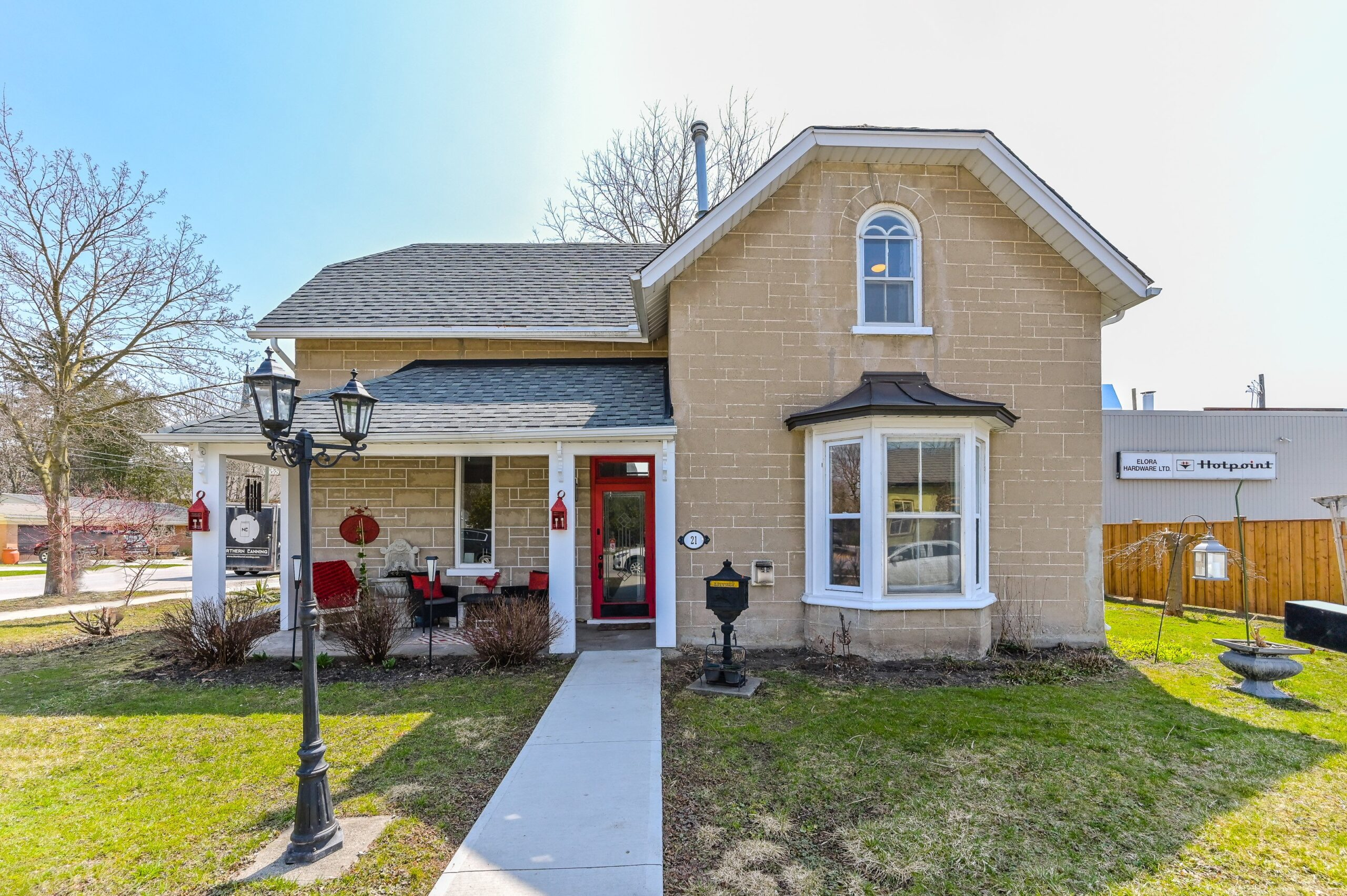 Charming Home Steps from Downtown Elora | 21 Colborne St.