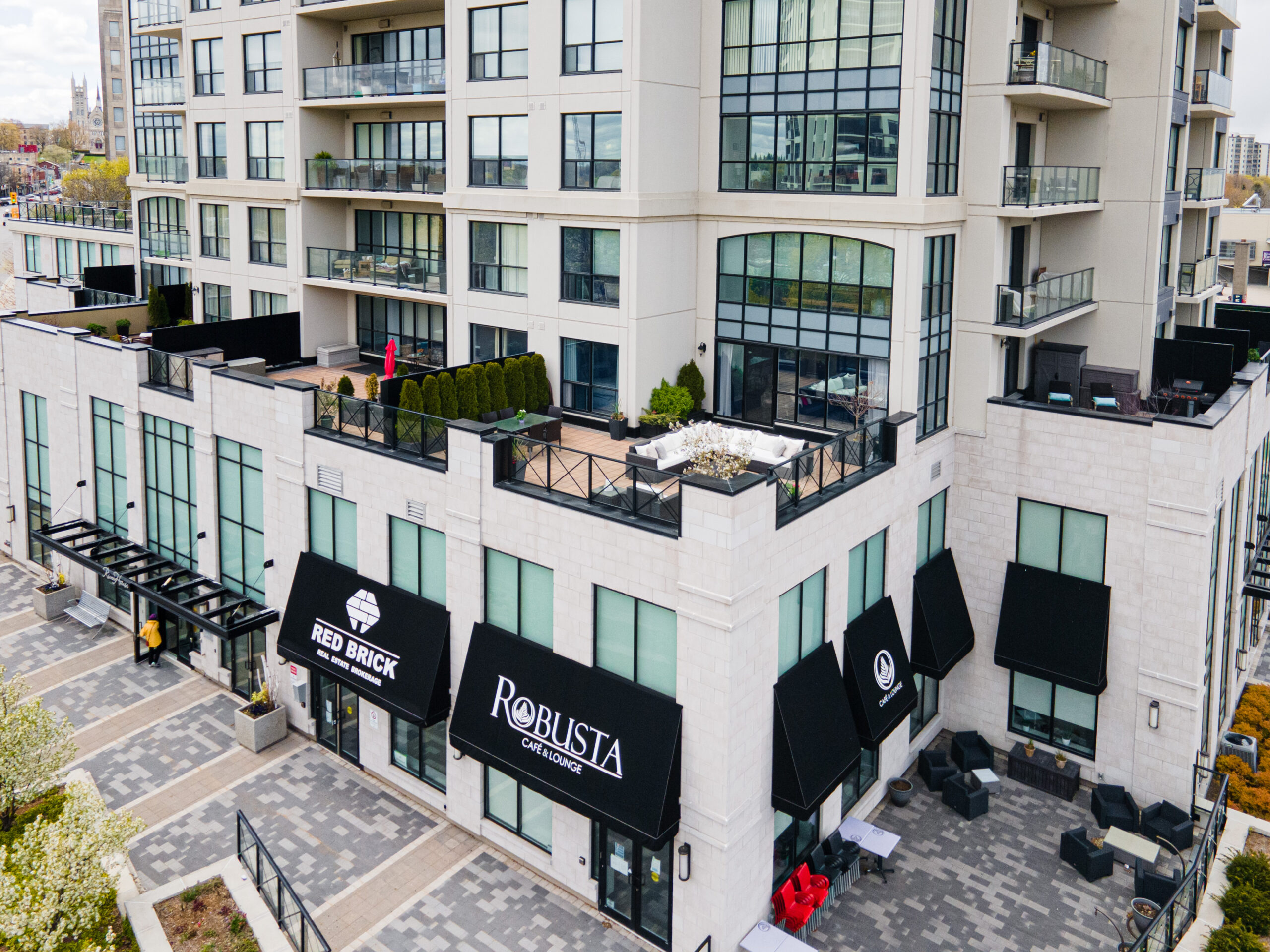Luxury Condo with Private Terrace | 304-160 MacDonell Street
