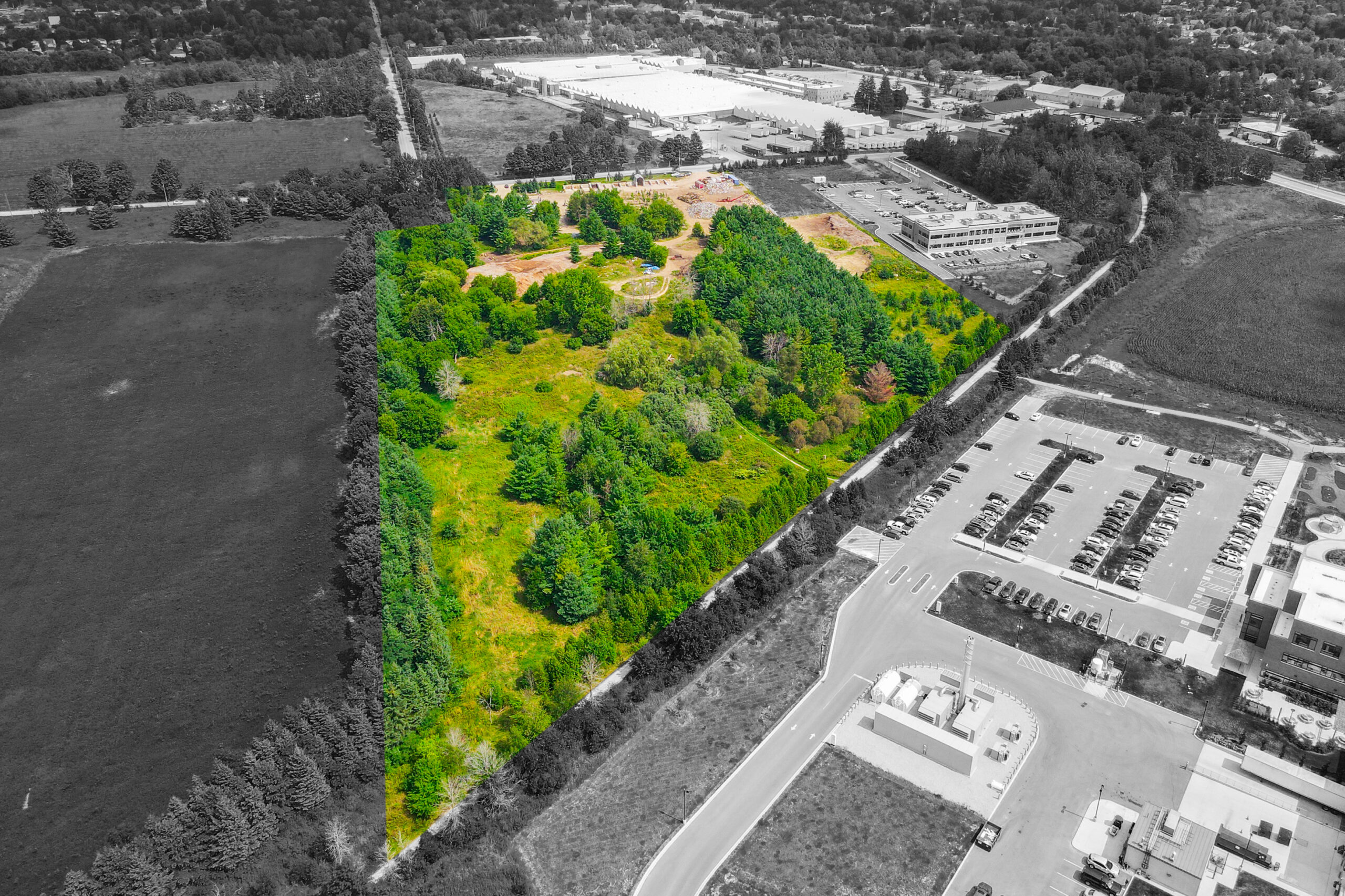 13.8 Acre Vacant Land Opportunity   6430 Beatty Line N